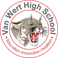 Van Wert High School circle logo