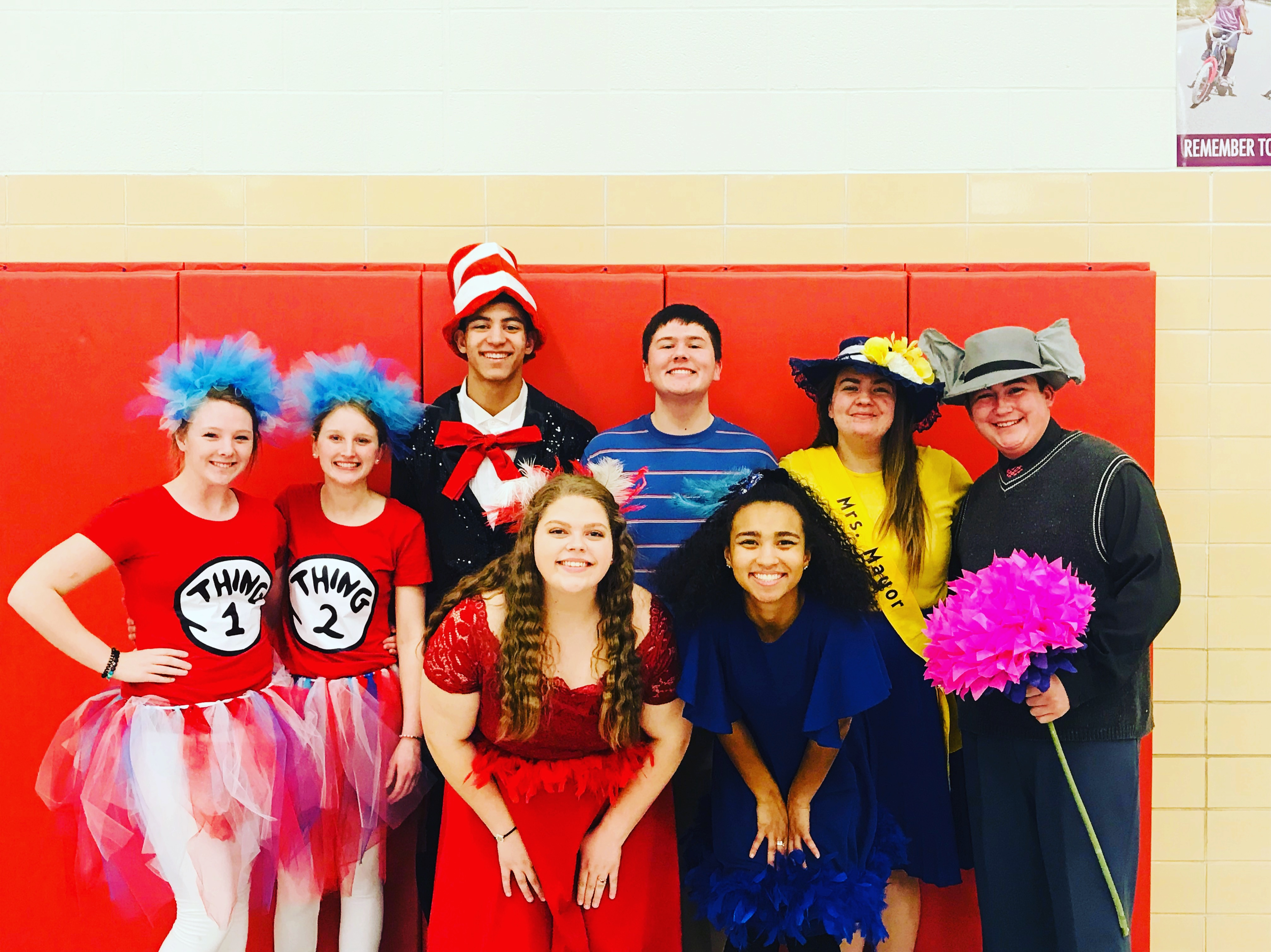 Cast of Seussical, the Musical