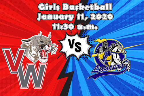 Van Wert Cougars vs. Lincolnview Lancers Girls Basketball January 11 at 11:30 a.m.