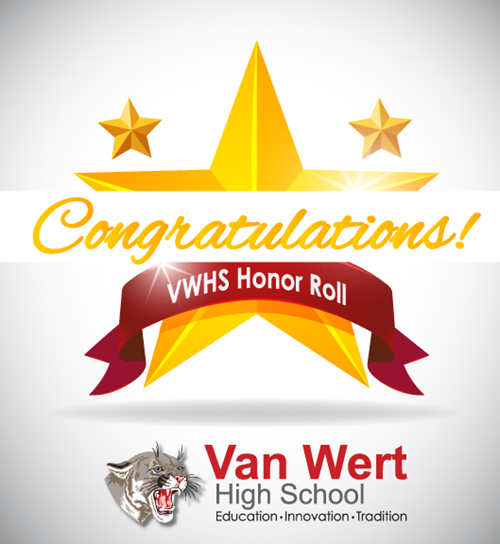 Congratulations VWHS Honor Roll graphic