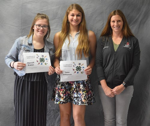 Senior 4-H Endowment Scholarship winners
