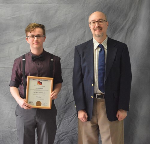 American Association of Teachers of German Senior Award winner