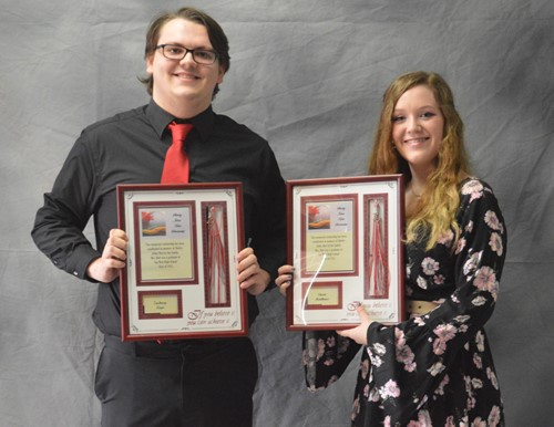 Shirley Johns Hart Memorial Scholarship winners