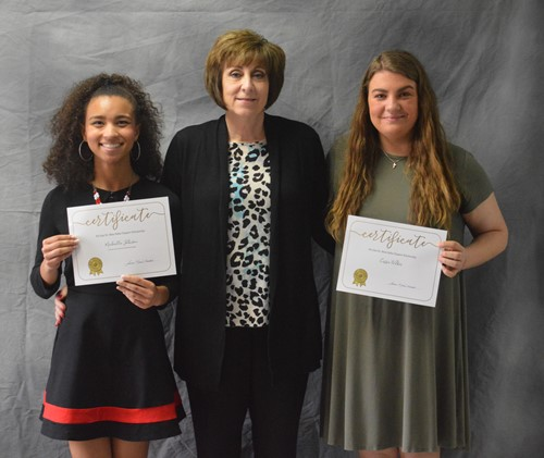 Psi Iota Xi Scholarship winners