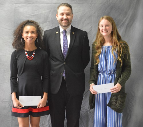 The Van Wert Rotary Scholarship winners