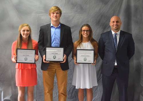 O.H.S.A.A. Scholar Athlete Award winners