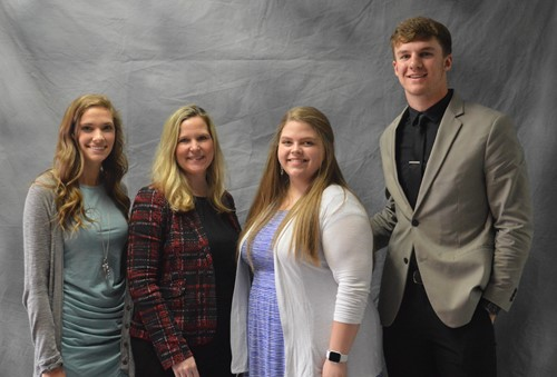 Van Wert Health Biomedical Science Scholarship winners