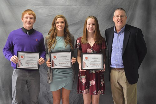 Van Wert Federation of Teachers Scholarship winners